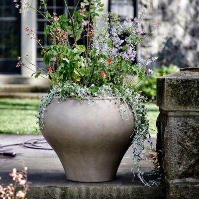 Fiber Vase Planter, Natural