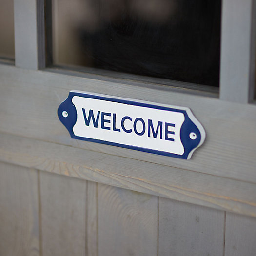 View larger image of Welcome Sign