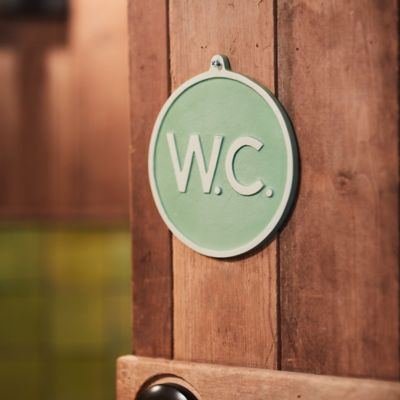 Water Closet Sign