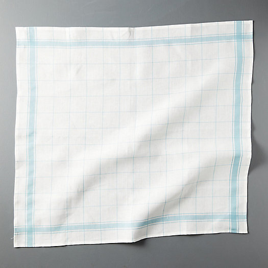 View larger image of Checked Linen Dish Towel
