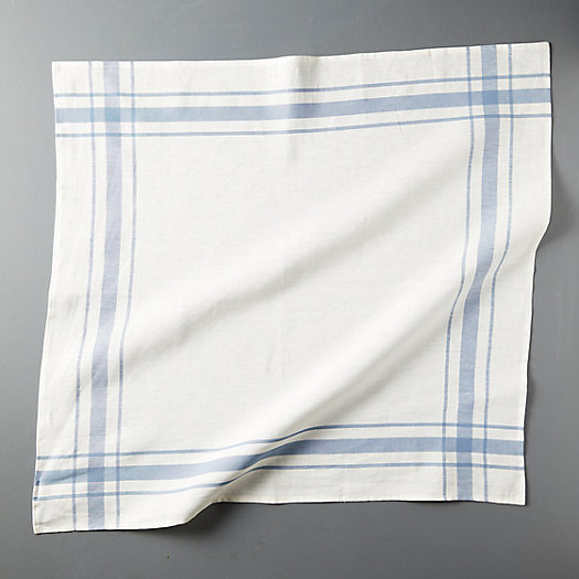 View larger image of Plaid Edge Linen Dish Towel