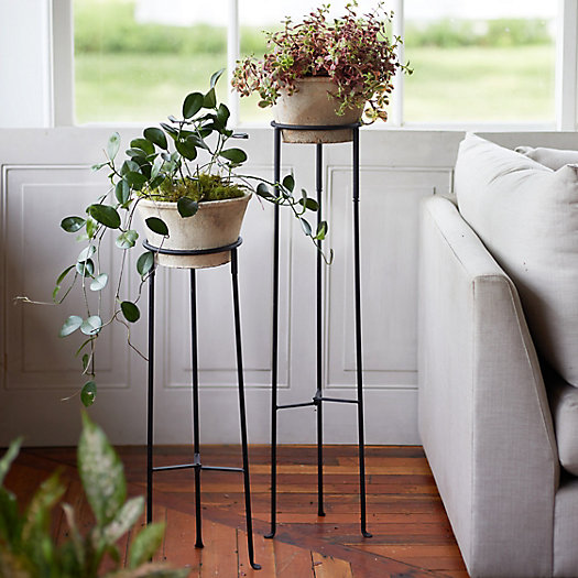 View larger image of Tall Iron Plant Stand