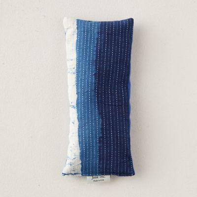 Lavender Eye Pillow, Indigo Stripe