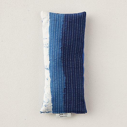 View larger image of Lavender Eye Pillow, Indigo Stripe