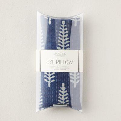 Lavender Eye Pillow, Indigo Ferns