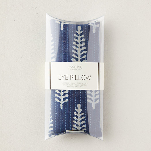 View larger image of Lavender Eye Pillow, Indigo Ferns