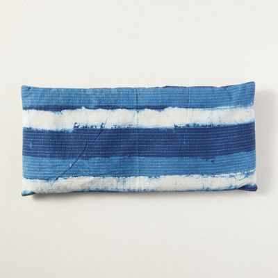 Lavender Spa Pillow, Indigo Stripe