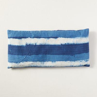 Lavender Spa Pillow, Indigo Stripe