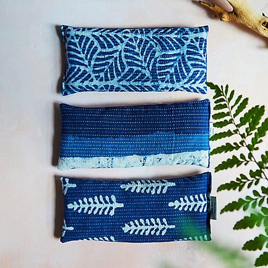 View larger image of Lavender Spa Pillow, Indigo Ferns