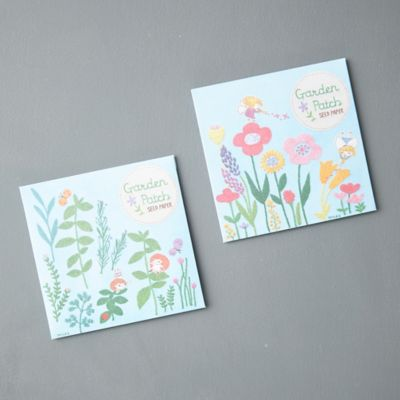 Garden Patch Seed Sheets, Set of 2