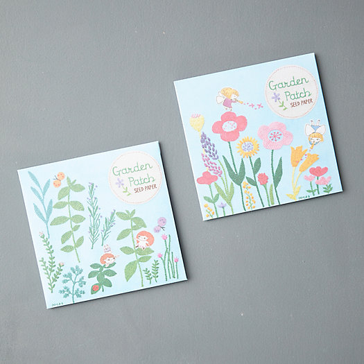 View larger image of Garden Patch Seed Sheets, Set of 2