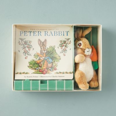 Peter Rabbit Book + Plush Toy