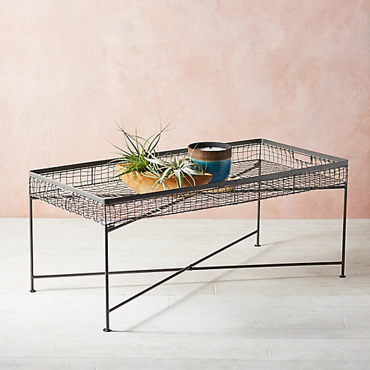View larger image of Wire Basket Coffee Table