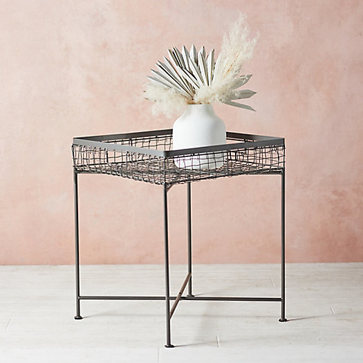 View larger image of Wire Basket Side Table