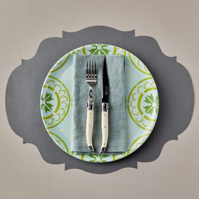 French Bistro Paper Placemats, Set of 12
