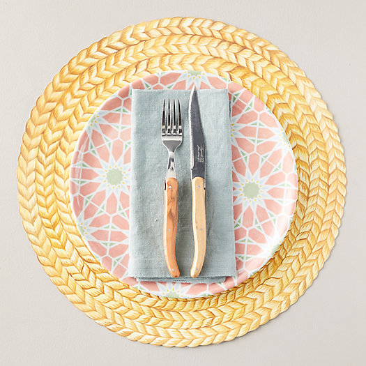 View larger image of Paper Faux Jute Placemats, Set of 12