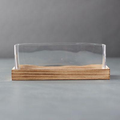 Wood Base Terrarium