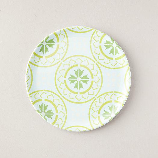 View larger image of Melamine Dinner Plate, Green Tile