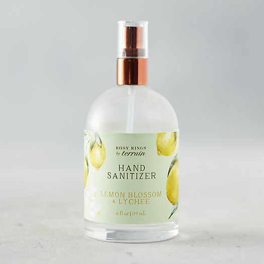 View larger image of Rosy Rings Hand Sanitizer, Lemon Blossom + Lychee