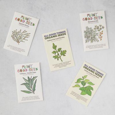Herb Garden Seeds, 5 Packets