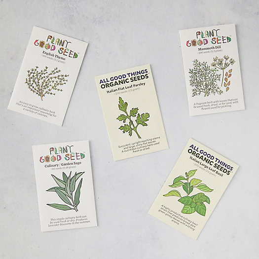 View larger image of Herb Garden Seeds, 5 Packets