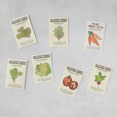 Salad Seed Collection, 7 Packets