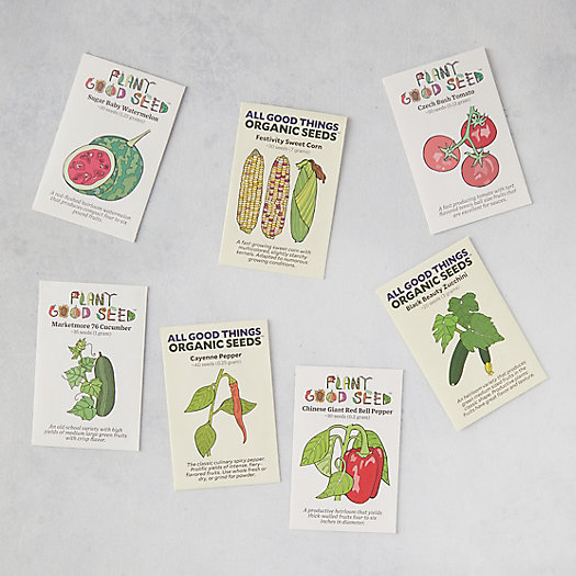 View larger image of Summer Veggie Seeds, 7 Packets