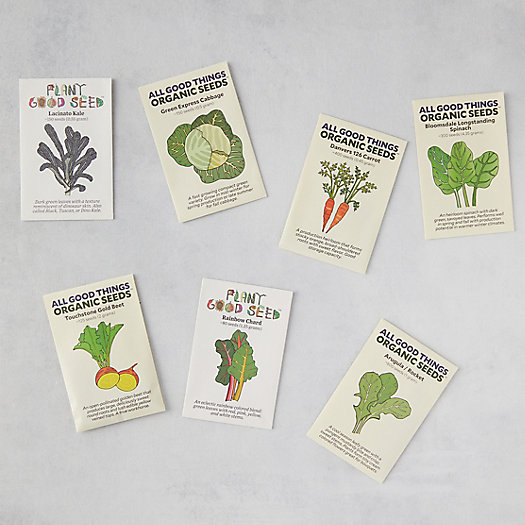 View larger image of Fall Veggie Seeds, 7 Packets