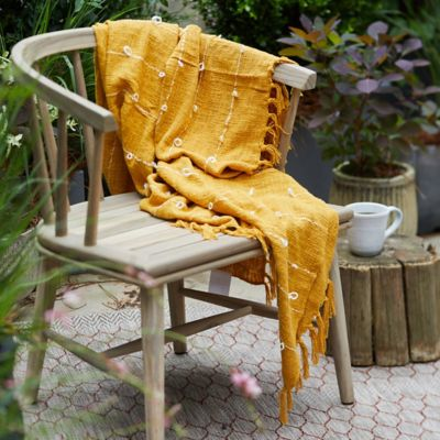 Looped Cotton Throw