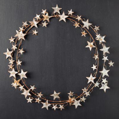 Aged Iron Star Wreath