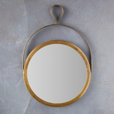 Hanging Wall Mirror with Loop