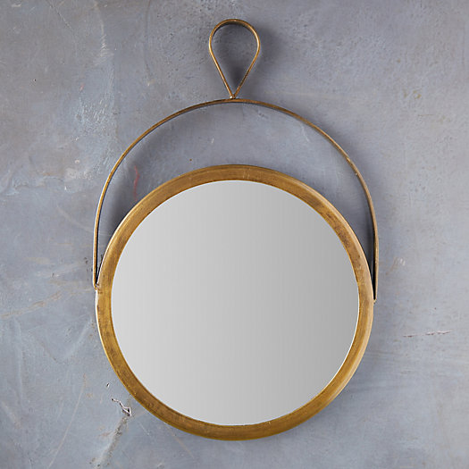 View larger image of Hanging Wall Mirror with Loop