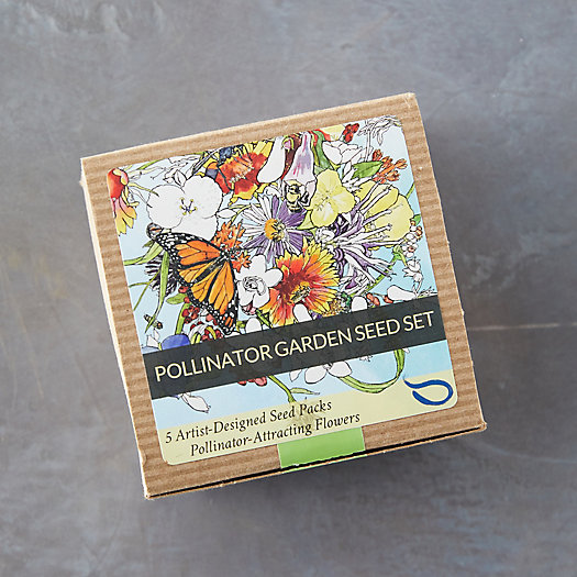 View larger image of Pollinator Garden Seed Set