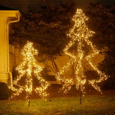 LED Outdoor Tree Frame