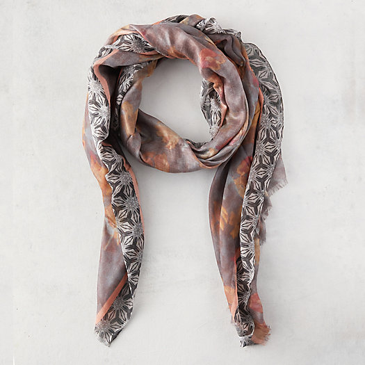 View larger image of Watercolor Tile Scarf