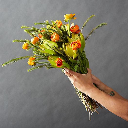 View larger image of Fresh Orange Ranunculus Bunch