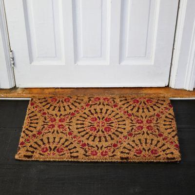 Floral Burst Doormat