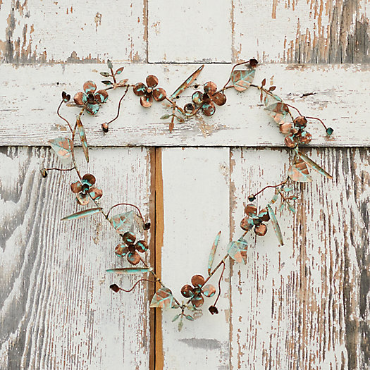 View larger image of Gilded Botanicals Iron Heart Wreath