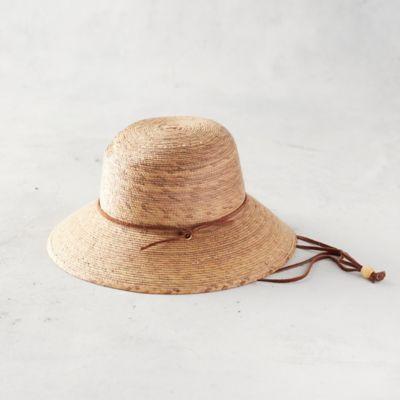 Kids' Woven Palm Sun Hat