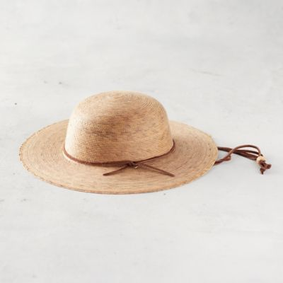 Child Woven Palm Hat