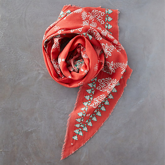 View larger image of Geo Print Triangle Scarf