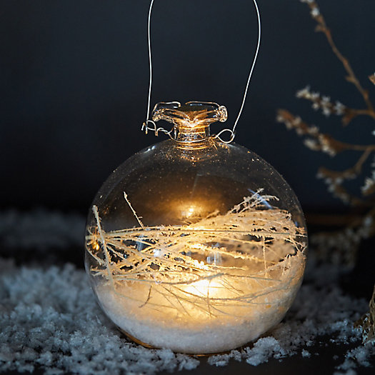 View larger image of Pre-lit LED Terrarium Globe Ornament