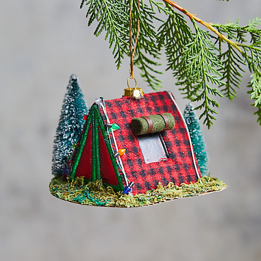 View larger image of Camping Tent Glass Ornament