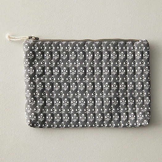 View larger image of Block Print Cotton Pouch
