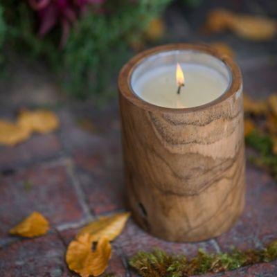 Himalayan Teak Candle, Summer Night Citronella
