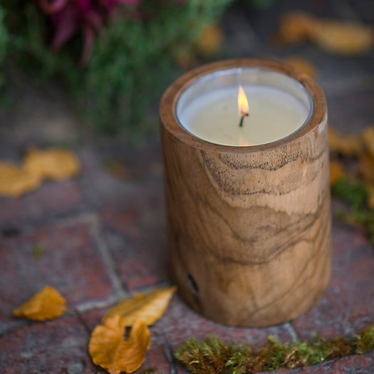 View larger image of Himalayan Teak Candle, Summer Night Citronella