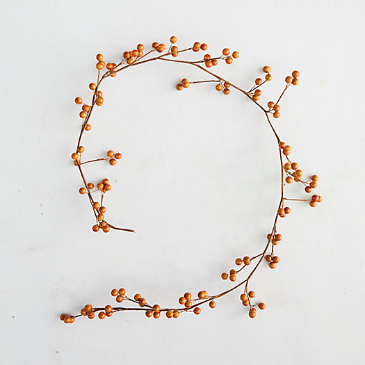 View larger image of Faux Orange Berry Garland