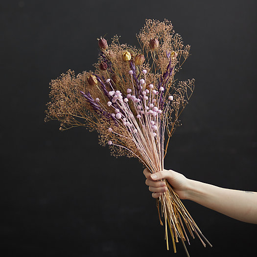 View larger image of Preserved Mauve Garden Bouquet