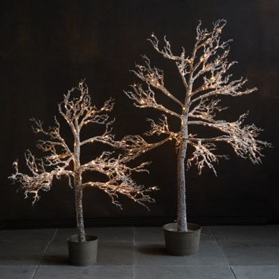 Pre-lit LED Faux Winter Tree