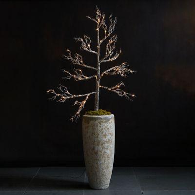 Pre-lit LED Faux Winter Branch
